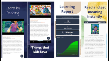 Free Reading App for Kids Based on Kid Friendly News Articles KidoBook