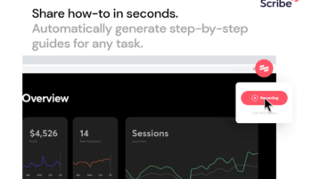 Free Website to Generate Step-by-Step Guides Automatically Scribe