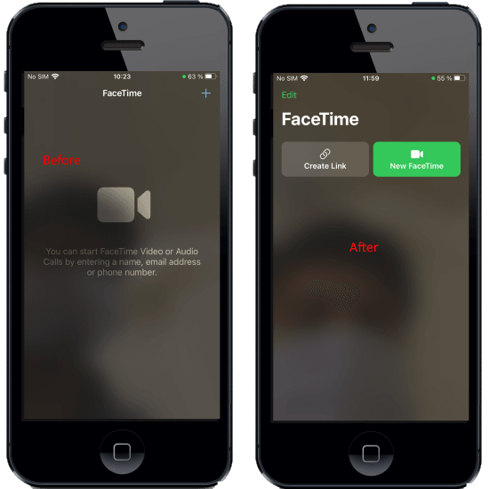 How to Create FaceTime web link to let non-iPhone users Join Video Calls