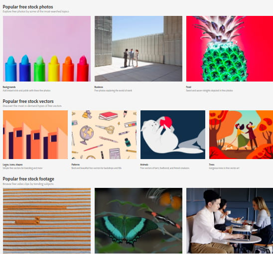 How to Download Adobe Stock Images, Videos for Free
