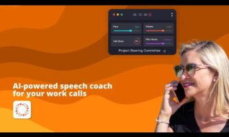 Improve Speaking Skills using this Speech Analyzer Software for Zoom, Meet