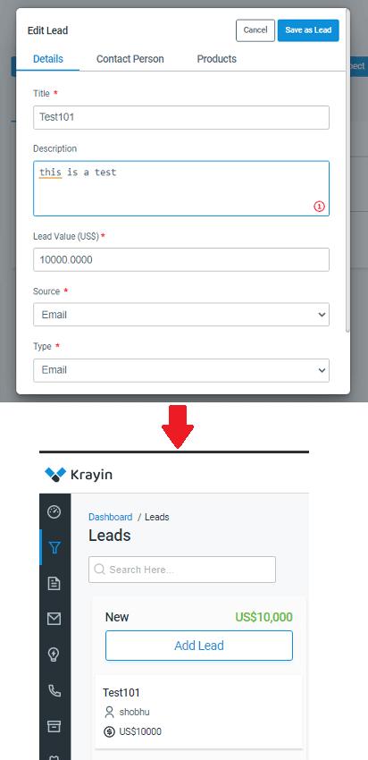 Leads Created