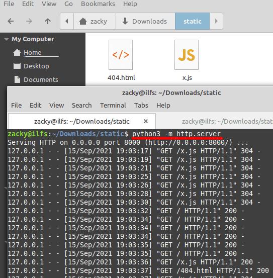 Python Run HTTP Server