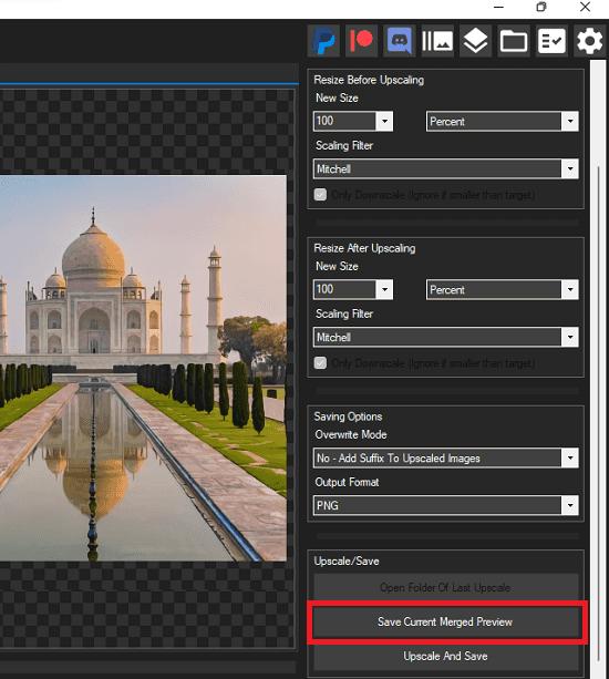 Save AI Upscaled image Cupscale