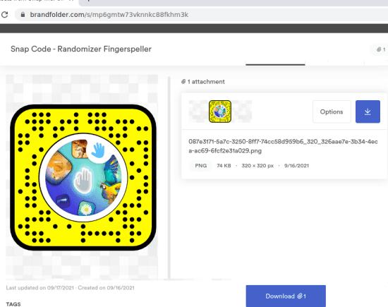 Scan Snapcode