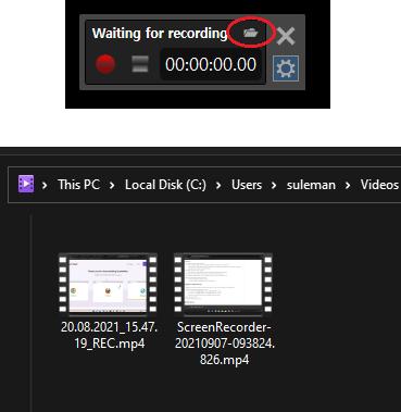 ScreenRecorder Recorder Videos