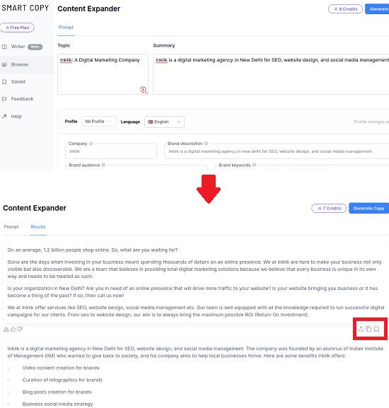 Smart Copy Expander