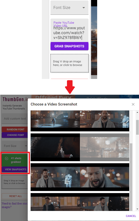 ThumbGen Grabbed Screenhost from YouTube Video