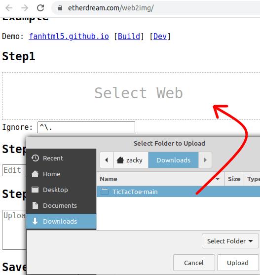 Upload Website Files