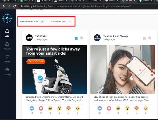 Wikispy Hunted Ads