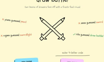 Free Remote Team Draw and Guess Word Game: Draw Battle