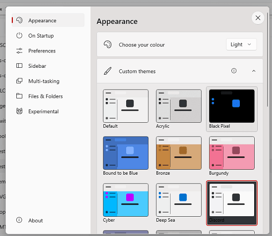 Files Themes