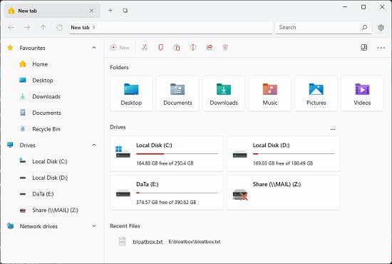 Files UI