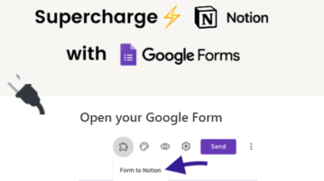 Free Google Forms Addon to Save Form Responses to Notion