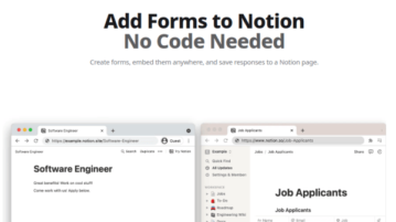 Free Unlimited Form Builder to Save Responses to Notion Workspaces
