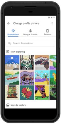 Google's Custom Illustrations in Gmail