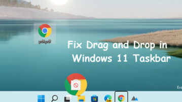 How to Enable Drag Drop Support in Windows 11 Taskbar
