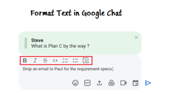 Quote Replies and Format Message Text on Google Chat
