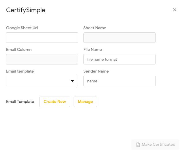 CertifySimple