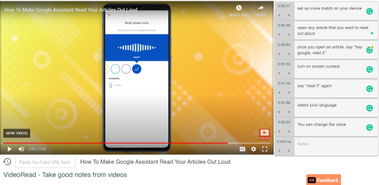 timestamps in VideoRead